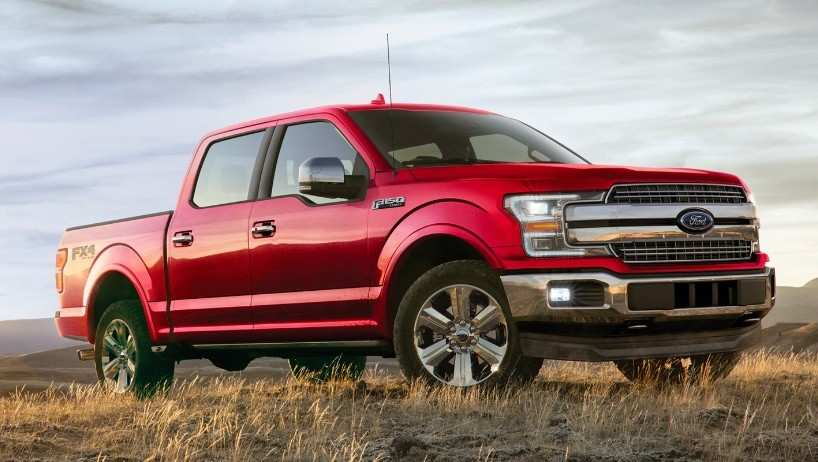 Red F-150
