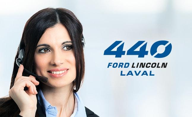 Contactez 440 Ford Laval par téléphone ou via notre site web