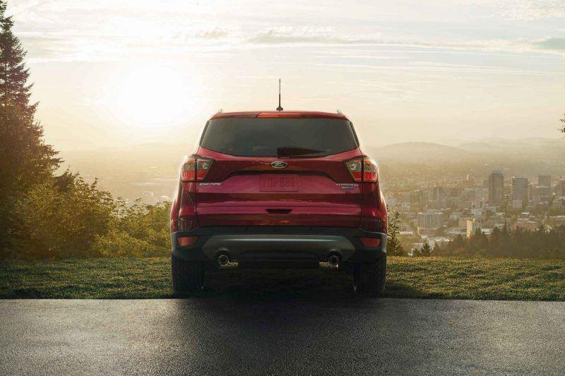 2019 Ford Escape Back View