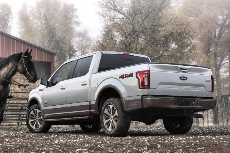 Ford F-150 On a Ranch
