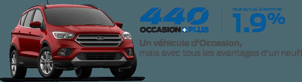 Ford Occasion Plus Taux Actuel à partir de 1.9%