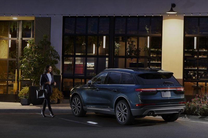 Woman with 2020 Lincoln Corsair