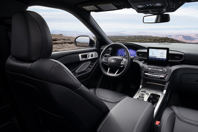 Intérieur du Ford Explorer 2020