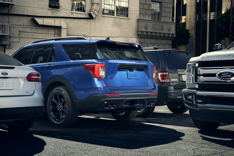 Ford Explorer 2020 reculant