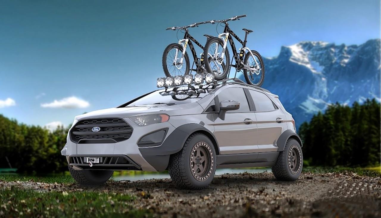 Ford EcoSport prêt pour l'aventure
