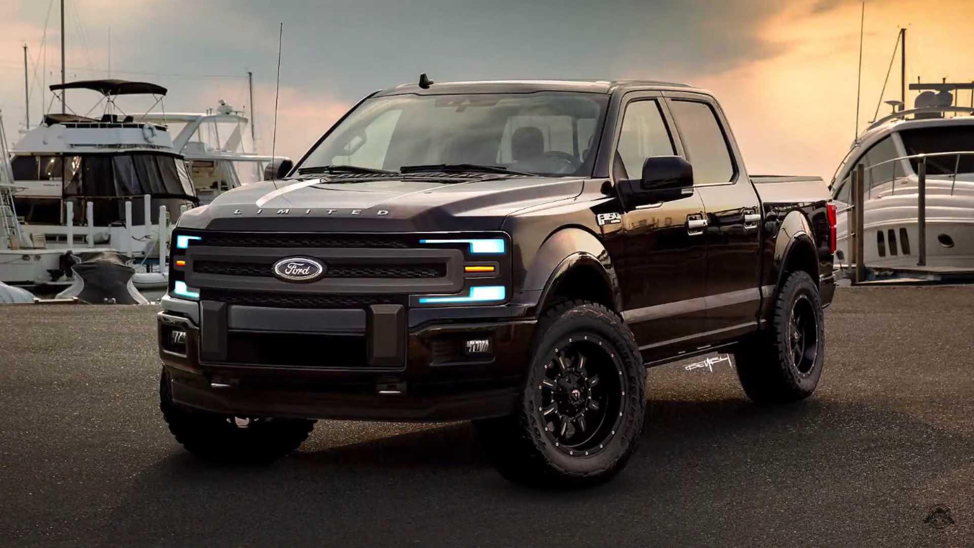 Ford F-150 limited 2021 couleur noir