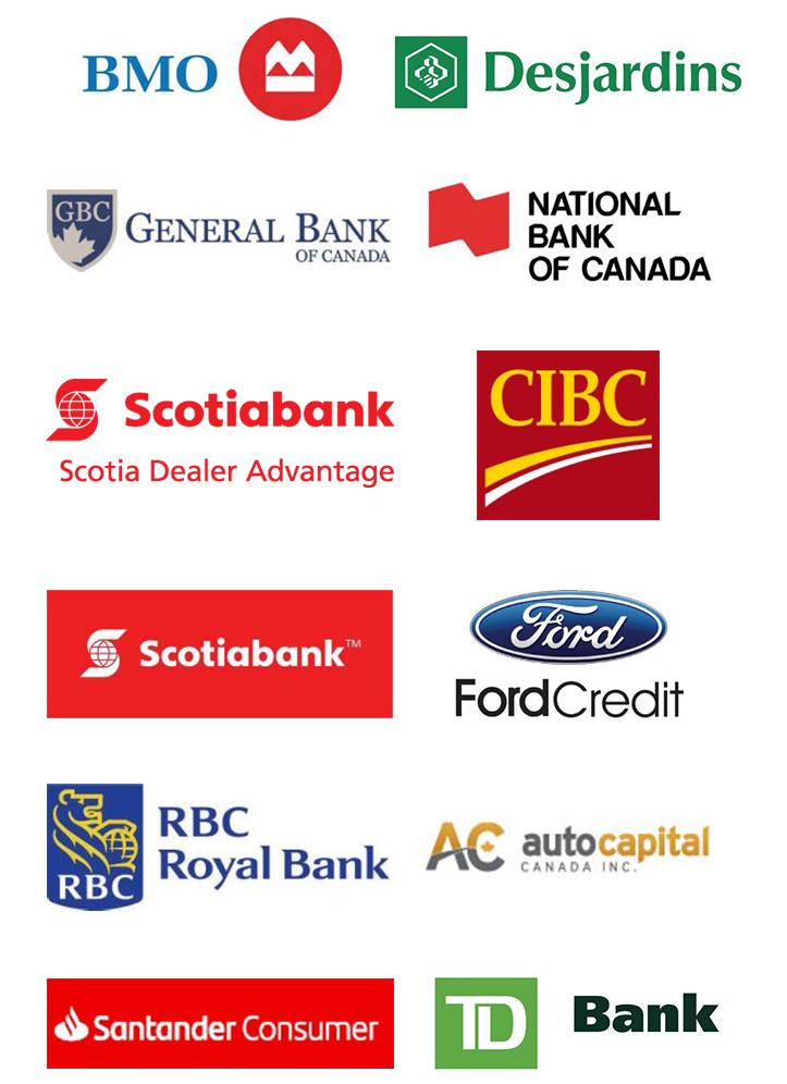 McDonnell Motors Bank Logos